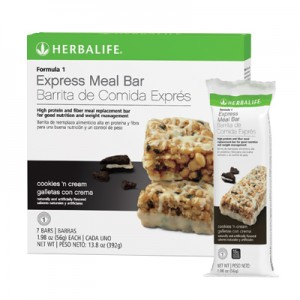 run262 Herbalife Express Meal Bar - Cookies 'n Cream